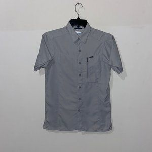 COLUMBIA MEN'S GREY OMNI-SHADE SHIRT - XS